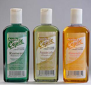 Aceite romero para pelo
