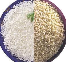 Arroz blanco & Arroz integral