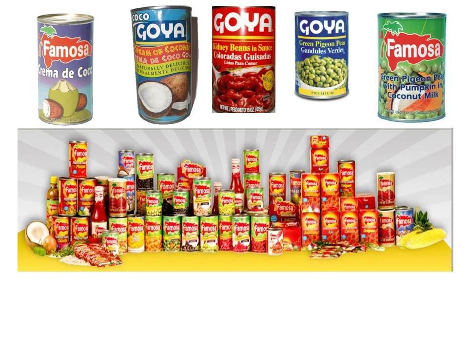 Comprar Productos Alimenticios Enlatados