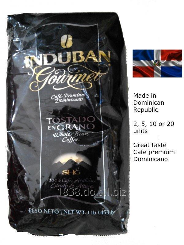 Comprar Cafe Dominicano Induban en grano 10 un. de 456 gramos