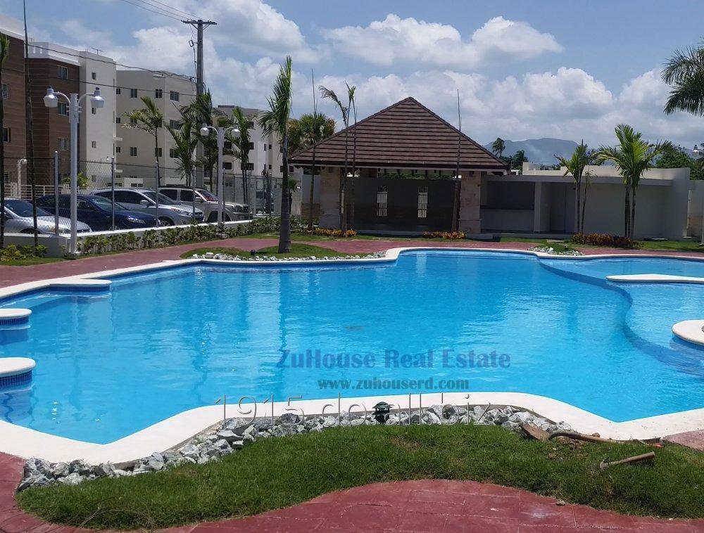 Comprar Apartamento Nuevo en Res. Con Piscina WPA04