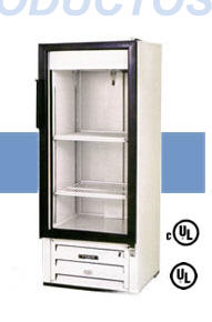 Merchandisers Refrigerados de Puerta de Cristal