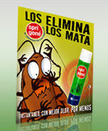 Spri gone insecticida efectivo