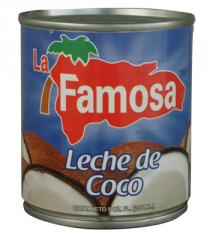 Leche de Coco 24/8 Oz. Famosa