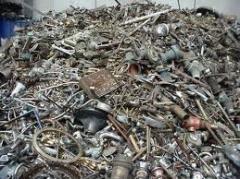 Desperdicios de hierro y acero