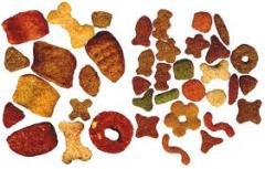Ingredientes base para alimentos de mascotas