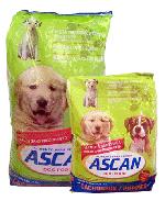 ASCAN, Alimento para perros