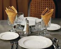 Аrtículos de cristalería para la mesa