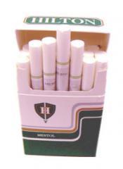 Cigarrillo con filtro Hilton