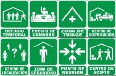 Letreros de seguridad y señales preventivas