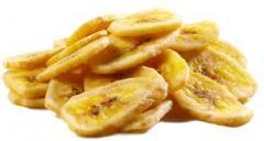 Plátanos secos biodinámicos