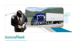 AuroraFleet sistema GPS para rastrear vehículos y controlar flotillas