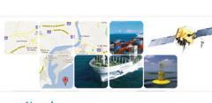 AuroraNaval rastreo y monitoreo de embarcaciones a través de la red satelital
