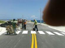 Pintura para carreteras