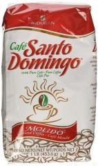 Coffee ground Santo Domingo 10 un of 456 gr each