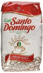 Cafe molido Santo Domingo 20 unidades de 456 gramos cada un