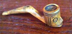 Pipe for smoking snuff wood guayacan