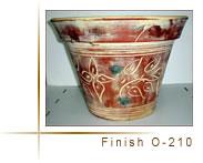 Vasijas de cerámica de flores