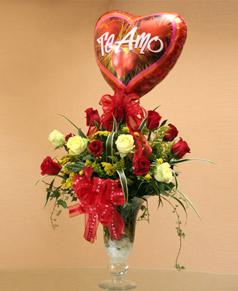 Pedido Ramo de flores - Amándote como Te Amo