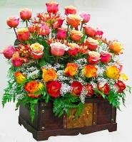 Pedido Areglo de rosas